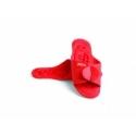 Yantra šlepetės Twin-Flex, raudonos
