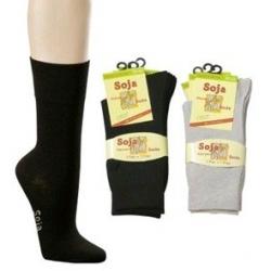 Kojinės su sojų proteinais