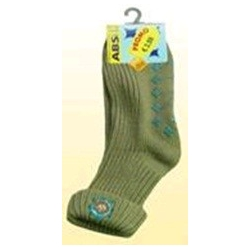 Medvilninės kojinės neslystančiu padu