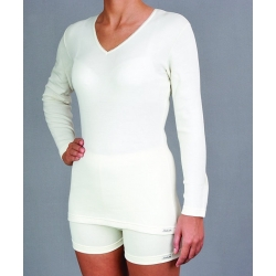 Moteriški marškinėliai ilgomis rankovėmis su gintaru PT 0528