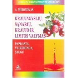 Knyga Kraujagyslių, sąnarių, kraujo ir limfos valymas