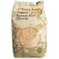 Basmati rudieji ryžiai Infinity