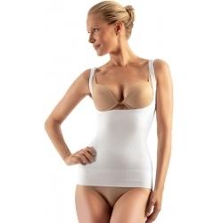 Formuojantys marškinėliai atvira krūtine