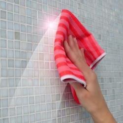 Šluostė vonios kambariui