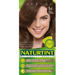 NATURTINT® ilgalaikiai plaukų dažai be amoniako, LIGHT GOLDEN CHESTNUT 5G (165 ml)