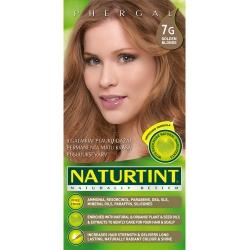 """""""Naturally Better"""" ilgalaikiai plaukų dažai be amoniako, GOLDEN BLONDE 7G (165 ml)"""