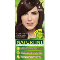 """""""Naturally Better"""" ilgalaikiai plaukų dažai be amoniako, INTENSE CHESTNUT 4.32 (165 ml)"""