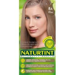 NATURTINT® ilgalaikiai plaukų dažai be amoniako, ASH BLONDE 8A (165 ml)