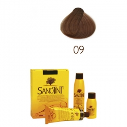 Augaliniai plaukų dažai Sanotint 09