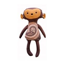 """Grikių lukštų žaislas (šildyklė) """"Beždžionėlė"""""""