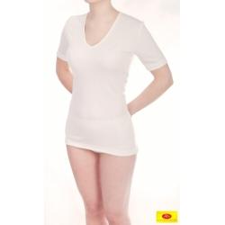 Moteriški marškinėliai iš 100 % bambuko pluošto PT 0802