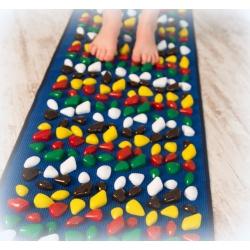Masažinis pėdų kilimėlis 100x40 cm